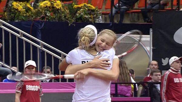 Сплоченность и поддержка Овечкина вывели сборную России по теннису в финал Fed Cup