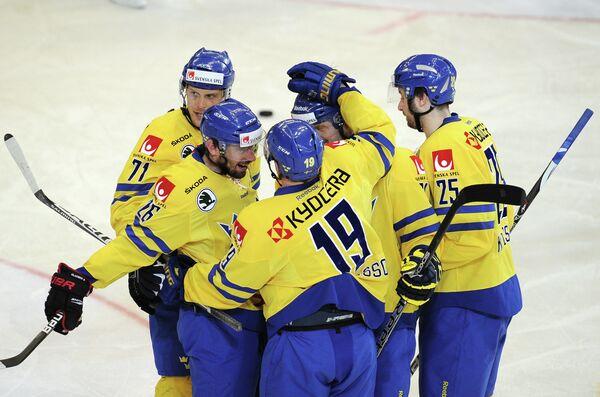 Шведские хоккеисты