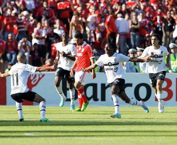 Игровой момент матча Витория - Бенфика
