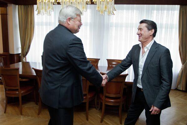 Сергей Жвачкин и Анатолий Давыдов