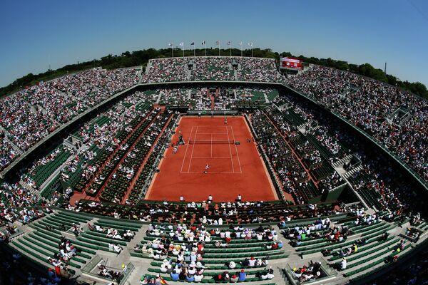 Теннисный корт Филиппа Шатерье