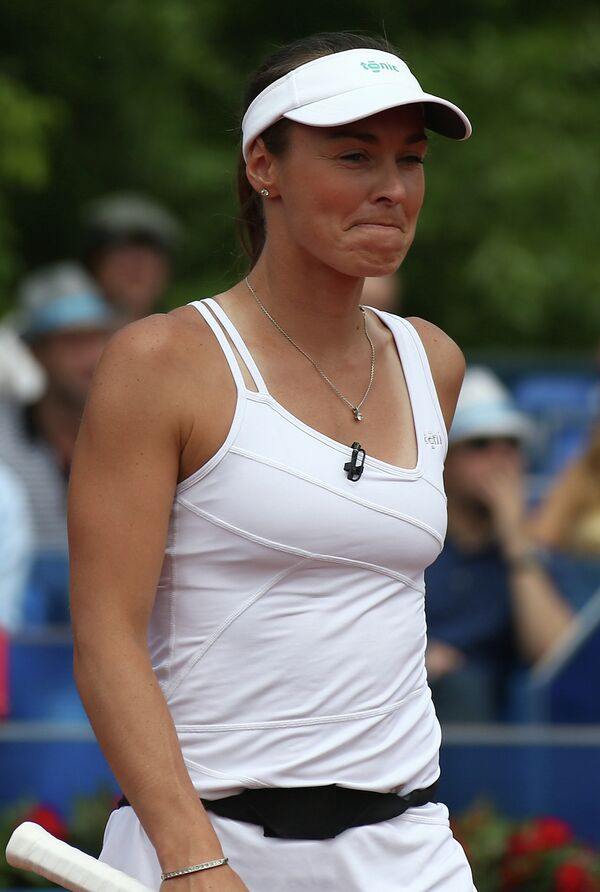 Швейцарская теннисистка Мартина Хингис.
