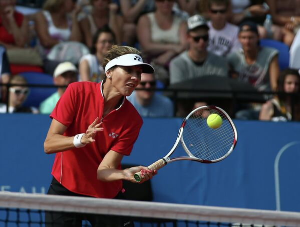 Югославско-американская теннисистка Моника Селеш.