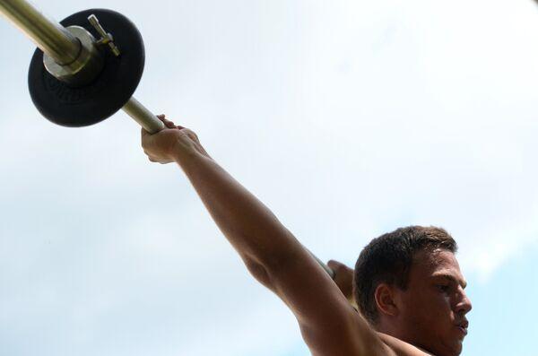 Российский спортсмен Владислав Новиков