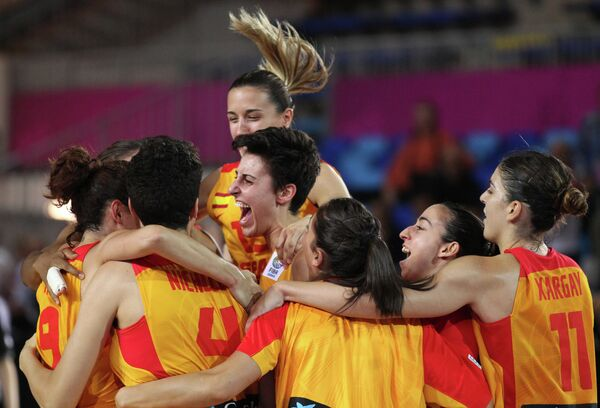 Игроки сборной Испании