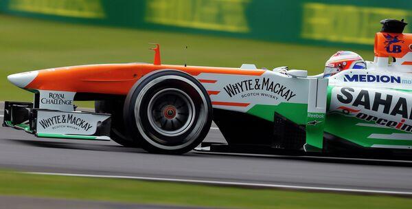 Пол Ди Реста во время квалификации Гран-при Великобритании
