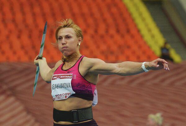 Россиянка Мария Абакумова
