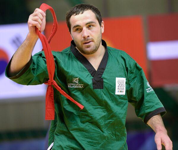 Российский спортсмен Артур Байрамуков