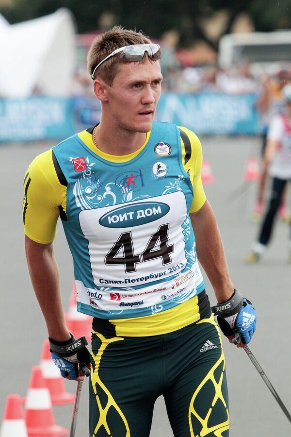 Олимпиский чемпион, двукратный чемпион мира Никита Крюков