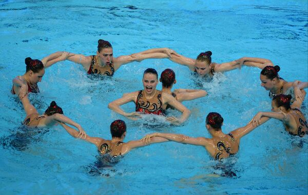 Сборная России по синхронному плаванию