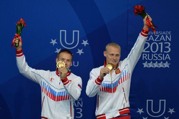 Илья Захаров и Евгений Кузнецов