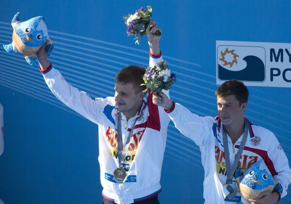 Виктор Минибаев (слева) и Артем Чесаков