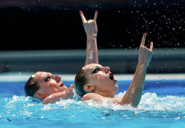 Россиянки Светлана Ромашина и Светлана Колесниченко