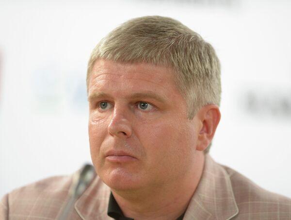 Вице-президент Федерации профессионального бокса России, организатор боя Поветкин - Кличко Андрей Рябинский