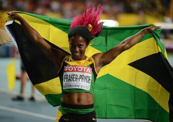 Чемпионка мира Шелли-Энн Фрейзер-Прайс (Ямайка)