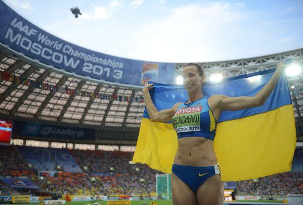 Украинка Анна Мельниченко