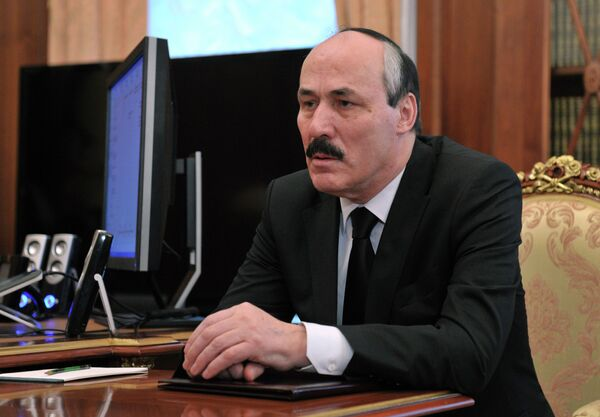Врио главы республики Дагестан Рамазан Абдулатипов