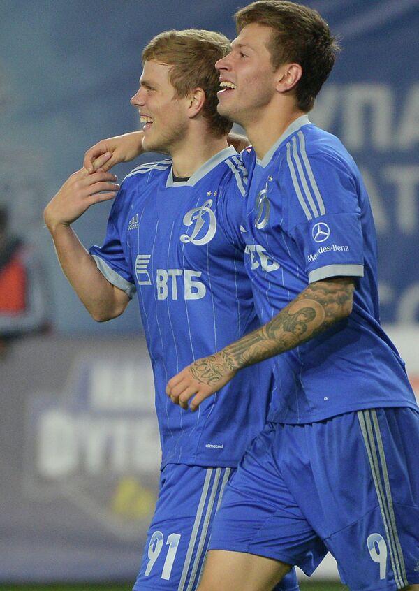 Александр Кокорин (слева) и Федор Смолов