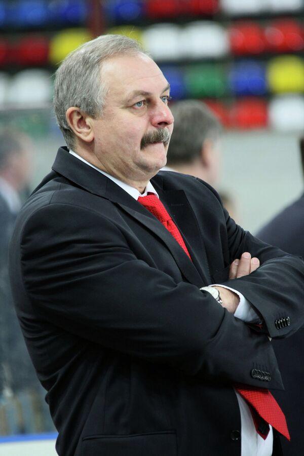 Бывший тренер омского Авангарда Сергей Герсонский