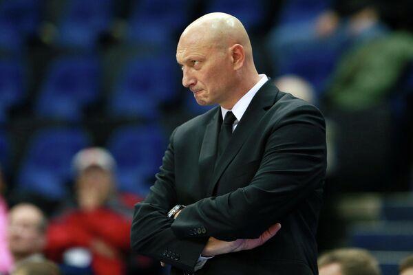 Главный тренер БК ВЭФ Рамунас Бутаутас