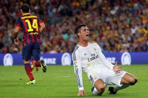 Нападающий Реала Криштиану Роналду