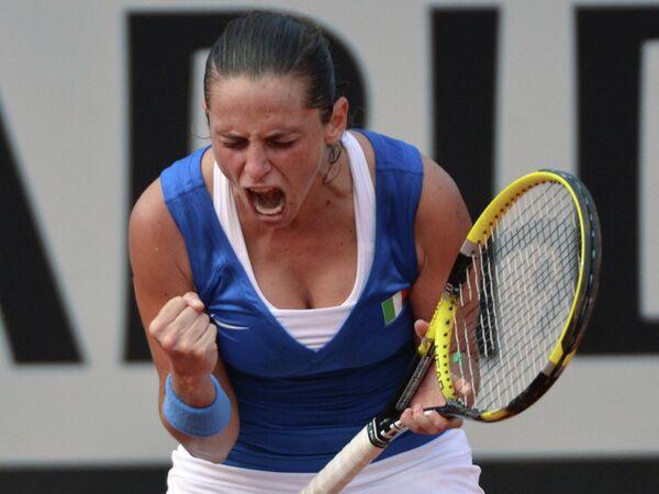 Итальянская теннисистка Роберта Винчи