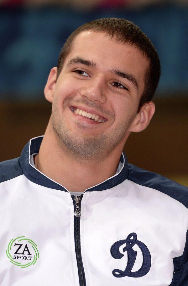 Игрок мужского волейбольного клуба Динамо Александр Маркин
