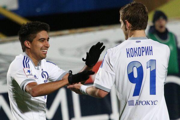 Кристиан Нобоа (слева) и Александр Кокорин