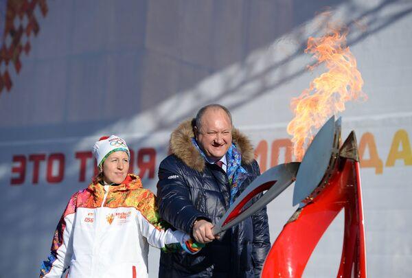 Лариса Соболева и Владимир Илюхин