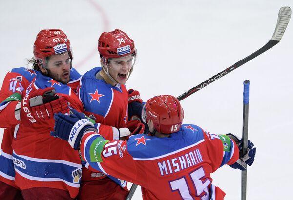 Хоккеисты ХК ЦСКА