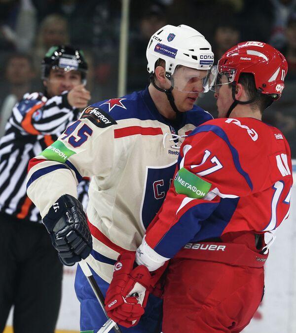 Андрей Кутейкин (слева) и Сергей Коньков