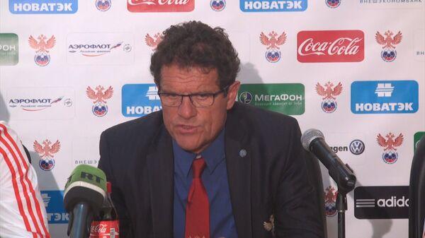 Я очень доволен матчем – Капелло о встрече сборных России и Южной Кореи