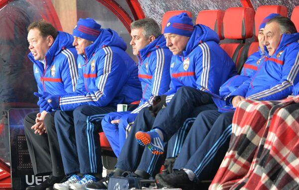 Тренерский штаб ЦСКА