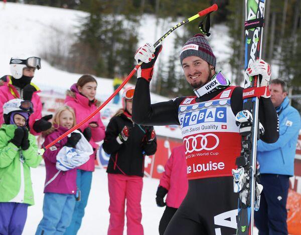Итальянский горнолыжник Доминик Парис