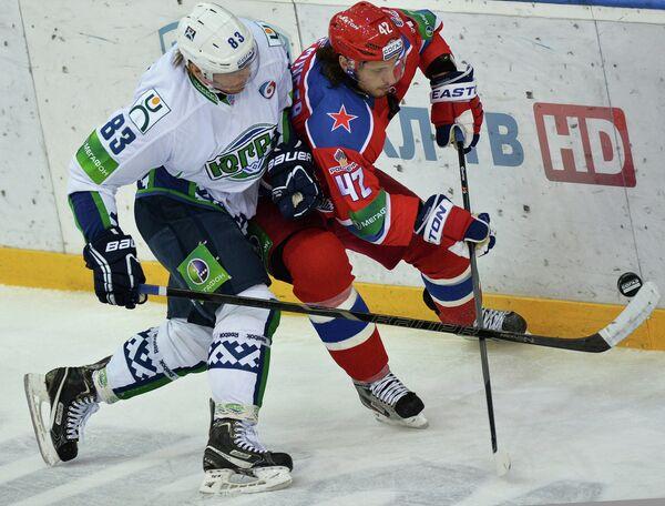 Кирилл Князев (слева) и Стивен Эминджер