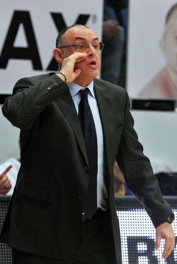 Тренер БК Астана Маттео Боничиолли