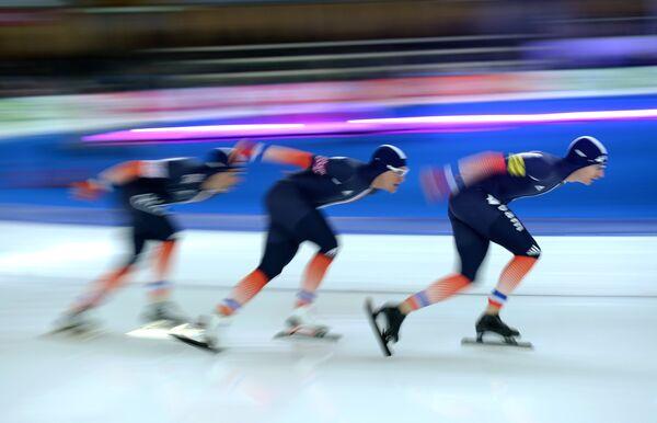 Конькобежный спорт. Сборная Франции
