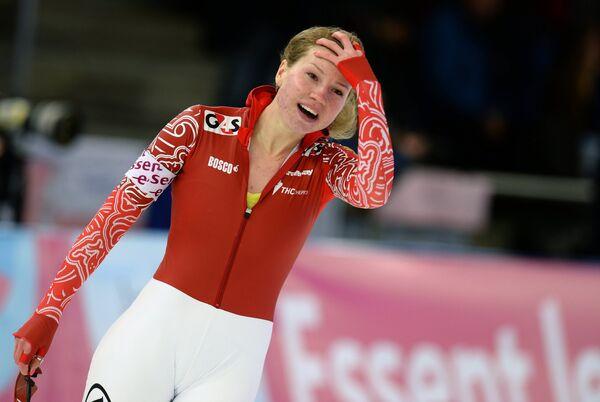 Конькобежный спорт. Ольга Фаткулина