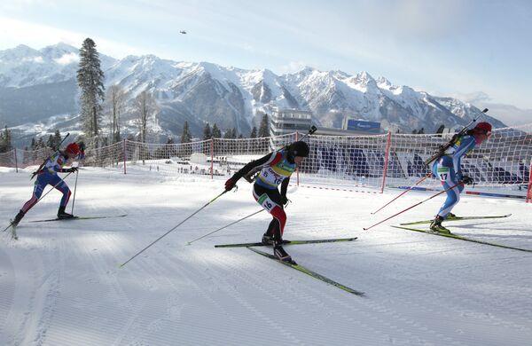 Лыжи. Женщины