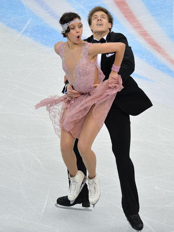 Елена Ильиных и Никита Кацалапов. Танцы на льду. Короткая программа