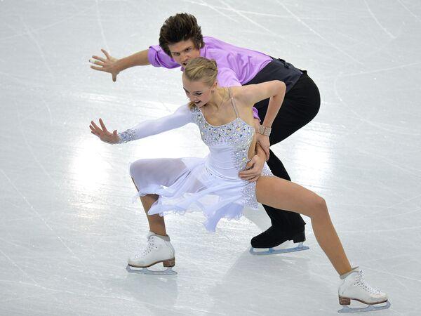 Александра Степанова и Иван Букин. Танцы на льду. Короткая программа
