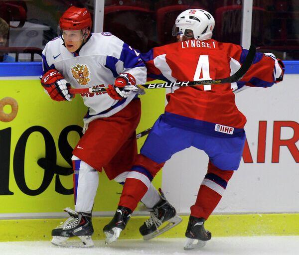 Иван Барбашев (Россия) и Таллак Люнгсет (Норвегия) (слева направо)