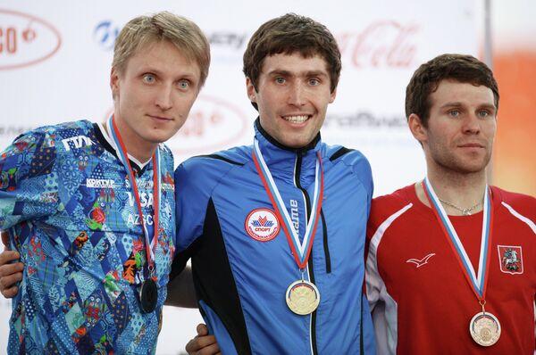 Иван Скобрев, Александр Румянцев и Евгений Серяев (слева направо)