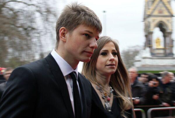 Андрей Аршавин с бывшей подругой Юлией