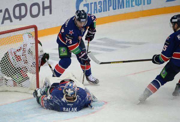 Хоккей. КХЛ. Матч СКА - Ак Барс
