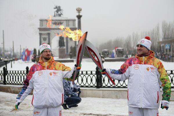 Вениамин Шехтман (слева) и Андрей Мартынец