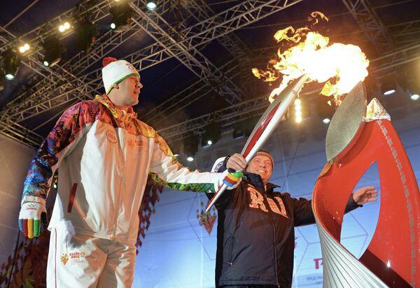 Заслуженный мастер спорта России, двукратный олимпийский чемпион по современному пятиборью Андрей Моисеев
