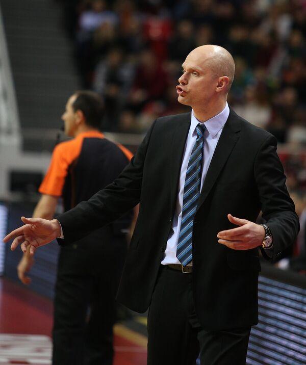 Главный тренер Жальгириса Саулюс Штомбергас