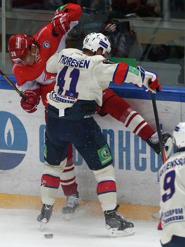 Виктор Бобров (слева) и Патрик Торесен