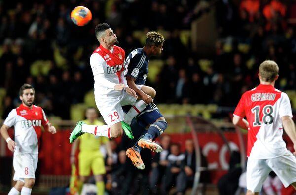 Игровой момент матча Монако - Марсель